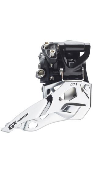 SRAM GX Umwerfer 2x11-fach Mid Direct Mount Bottom Pull schwarz/silber